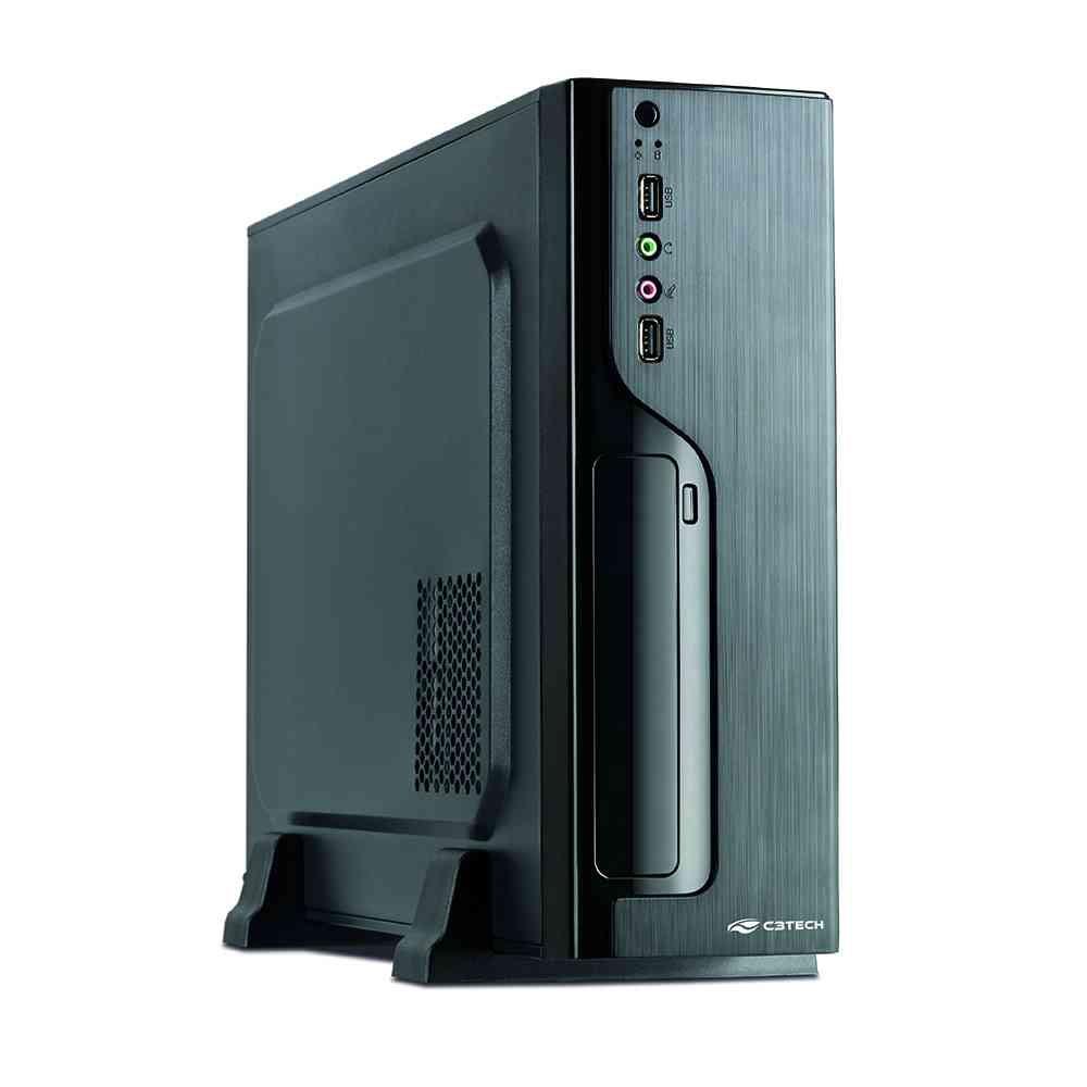 Gabinete C3Tech Preto com fonte PS-200SFX  DT-100BK