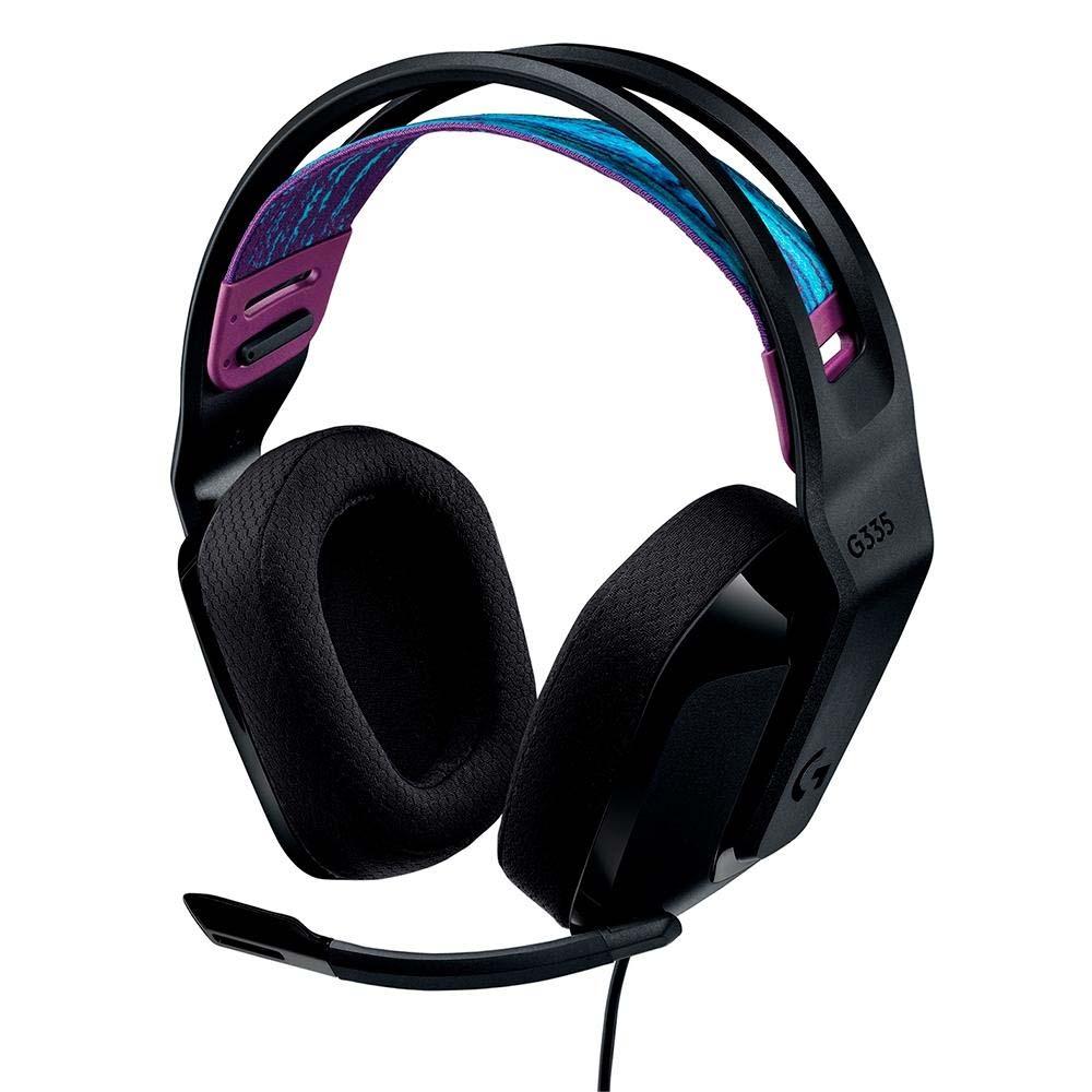 Headset Gamer Logitech G335 Preto
