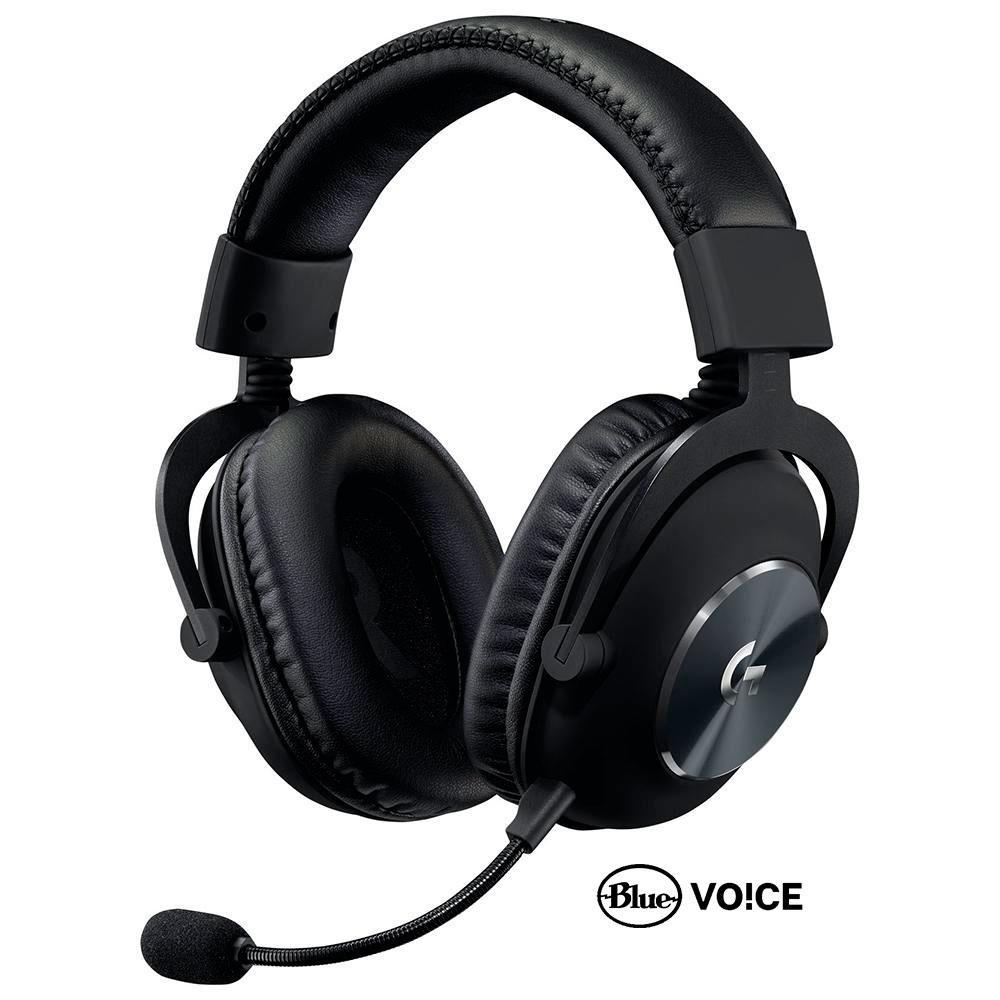 Headset Gamer Logitech G PRO X, Com Blue Voice, Som Surround 7.1, Drivers Pro-G de 50mm - 981-000817