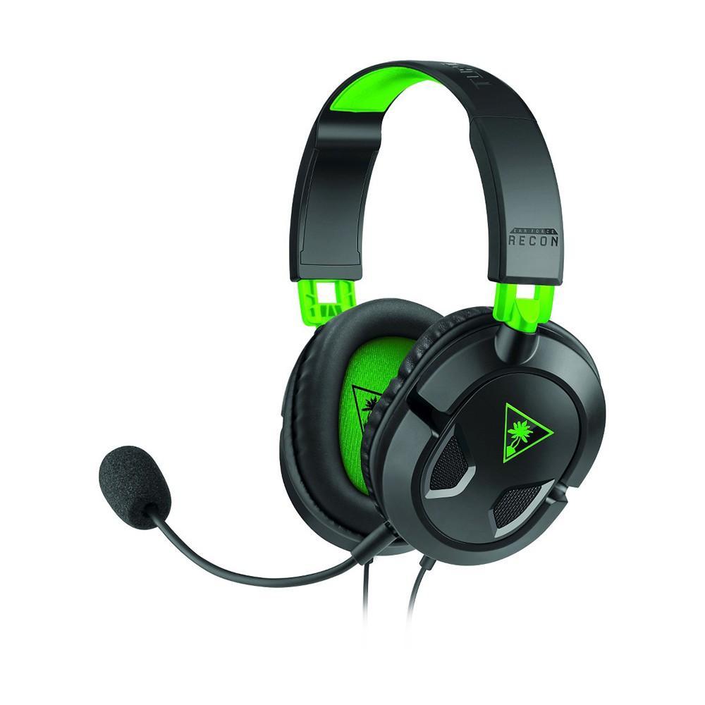 Headset Gamer Turtle Beach Recon 50X Earforce Preto e Verde - Xbox One(Embalagem avariada)