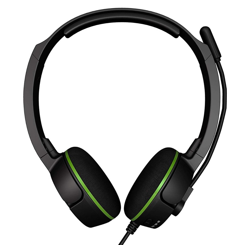 Headset Gamer Turtle Beach XLA Force Preto e Verde - Xbox 360 (Embalagem avariada)