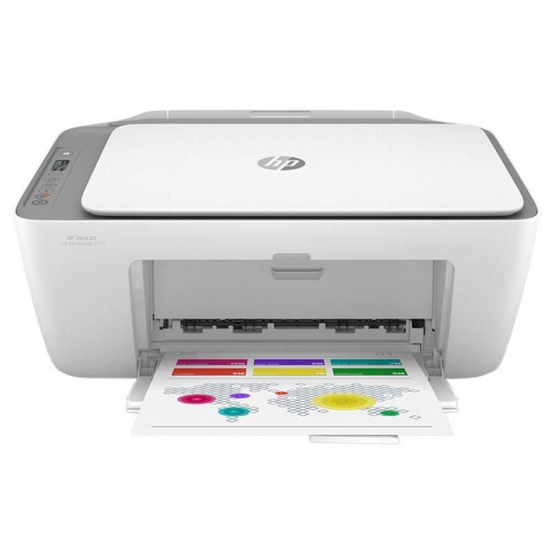 Impressora HP DeskJet Ink Advantage 2775 WiFi Multifuncional 3 em 1 Bivolt