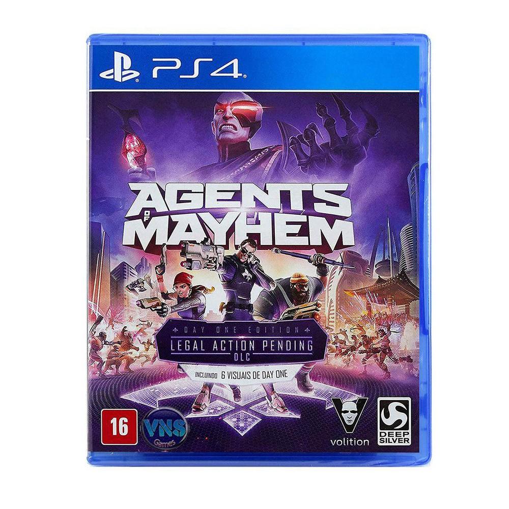 Jogo Agents of Mayhem - PS4 (Usado)