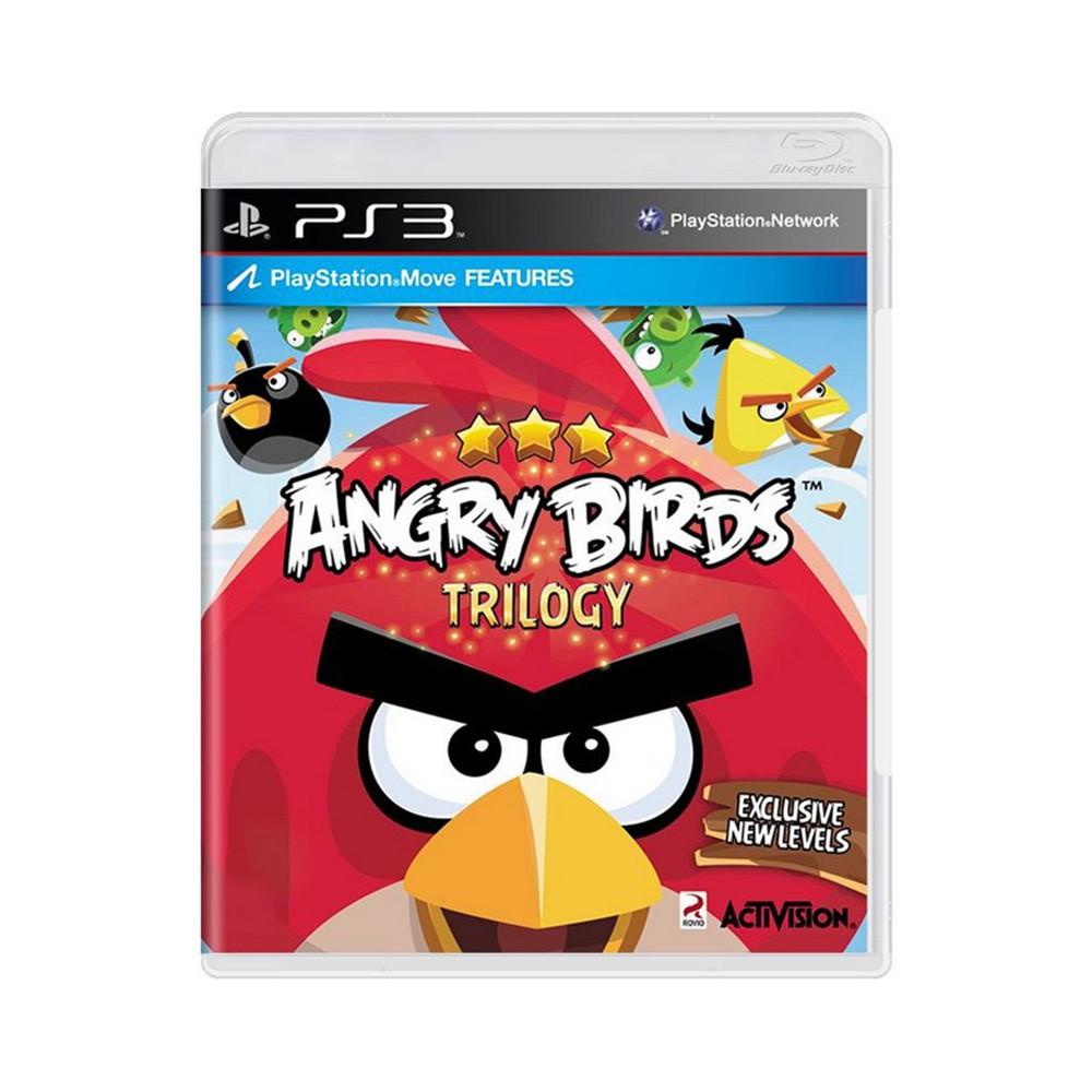 Jogo Angry Birds Trilogy - PS3 (Usado)