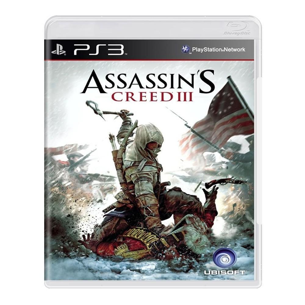 Jogo Assassin's Creed 3 - PS3 (Usado)