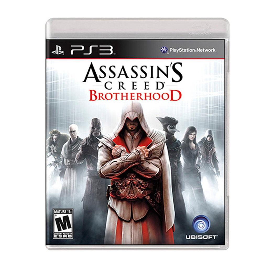 Jogo Assassin's Creed Brotherhood - PS3 (Usado)