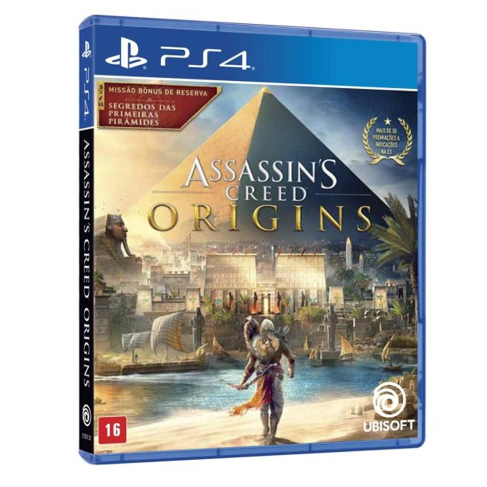 Jogo Assassin's Creed Origins - PS4 (Usado)