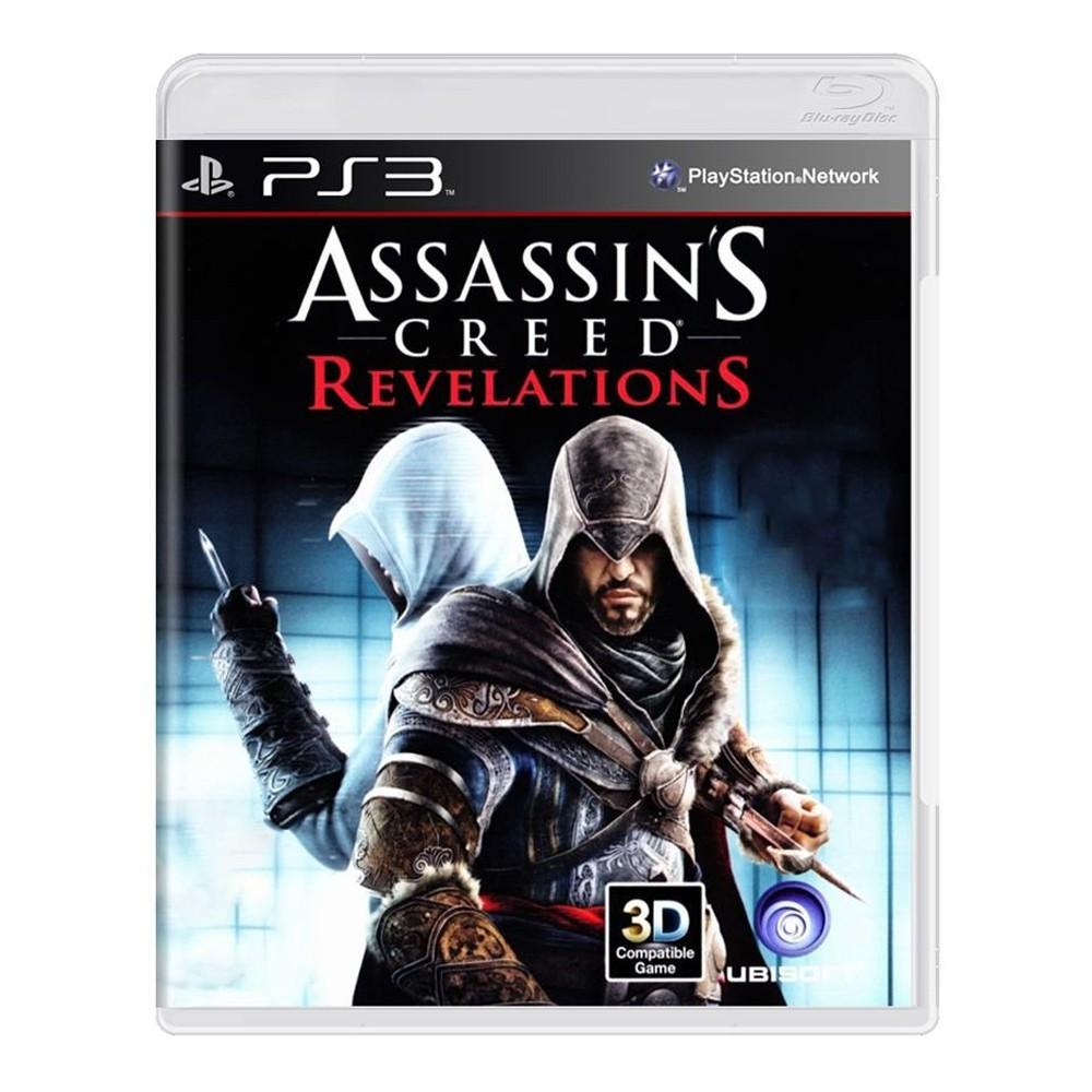 Jogo Assassin's Creed Revelations - PS3 (Usado)