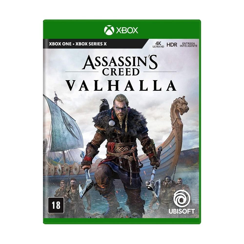 Jogo Assassin's Creed Valhalla - Xbox One & Xbox Series
