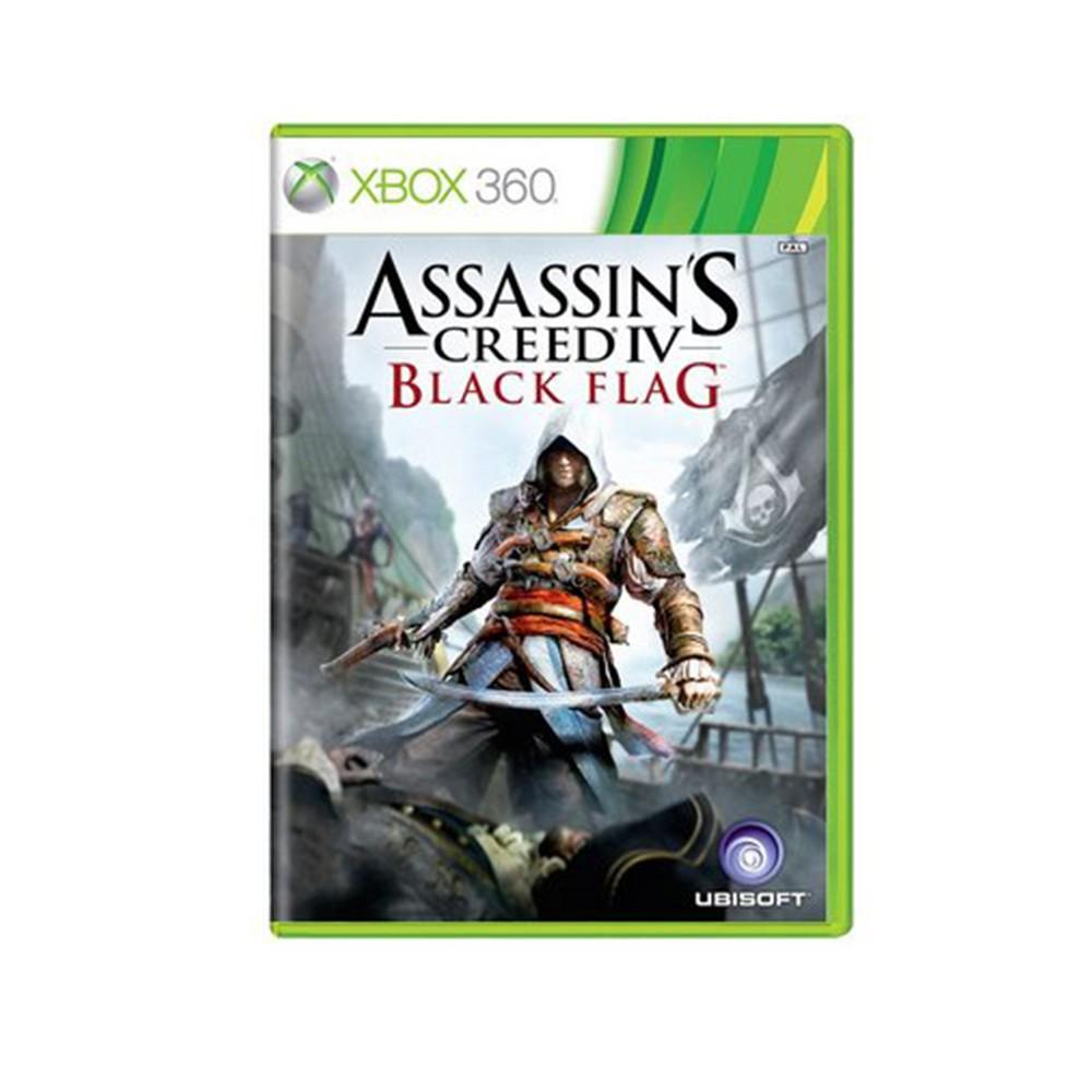 Jogo Assassins Creed Black Flag - Xbox 360 (Usado)