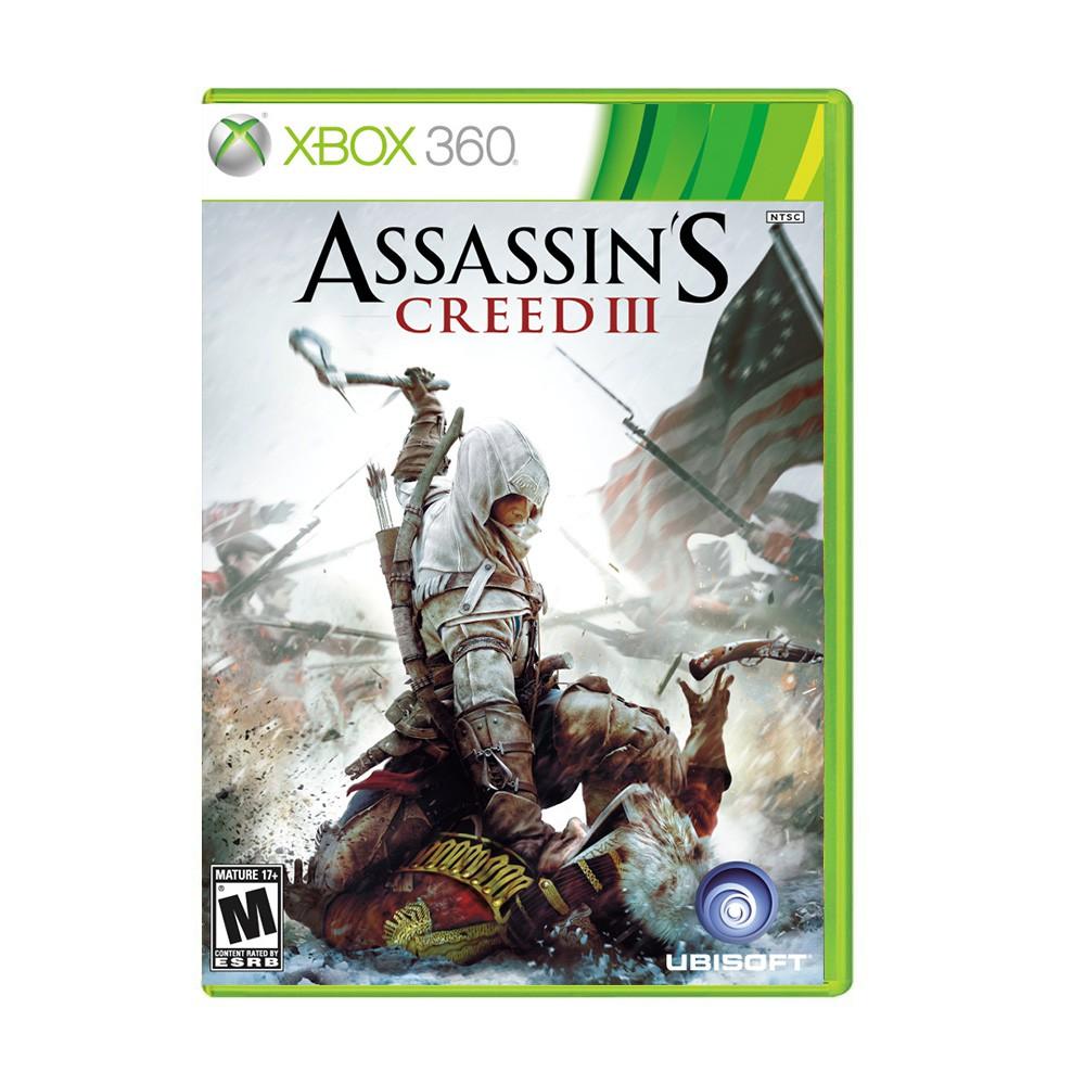 Jogo Assassins Creed III - Xbox 360 (Usado)