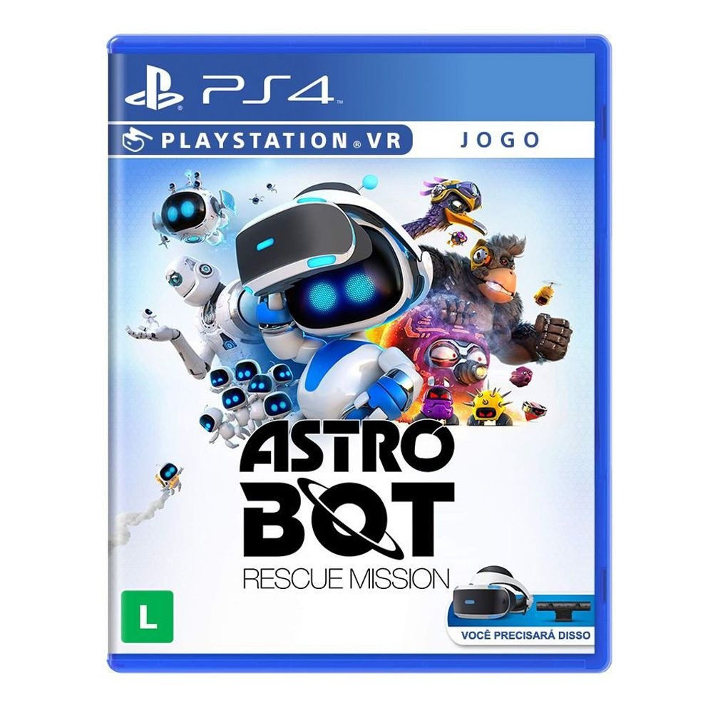 Jogo Astro Bot: Rescue Mission - PS4 VR