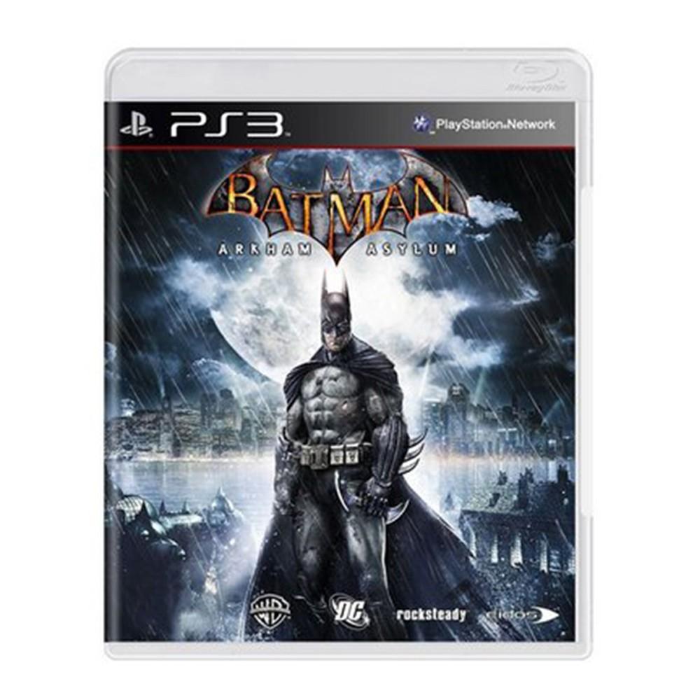 Jogo Batman Arkham Asylum - PS3 (Usado)