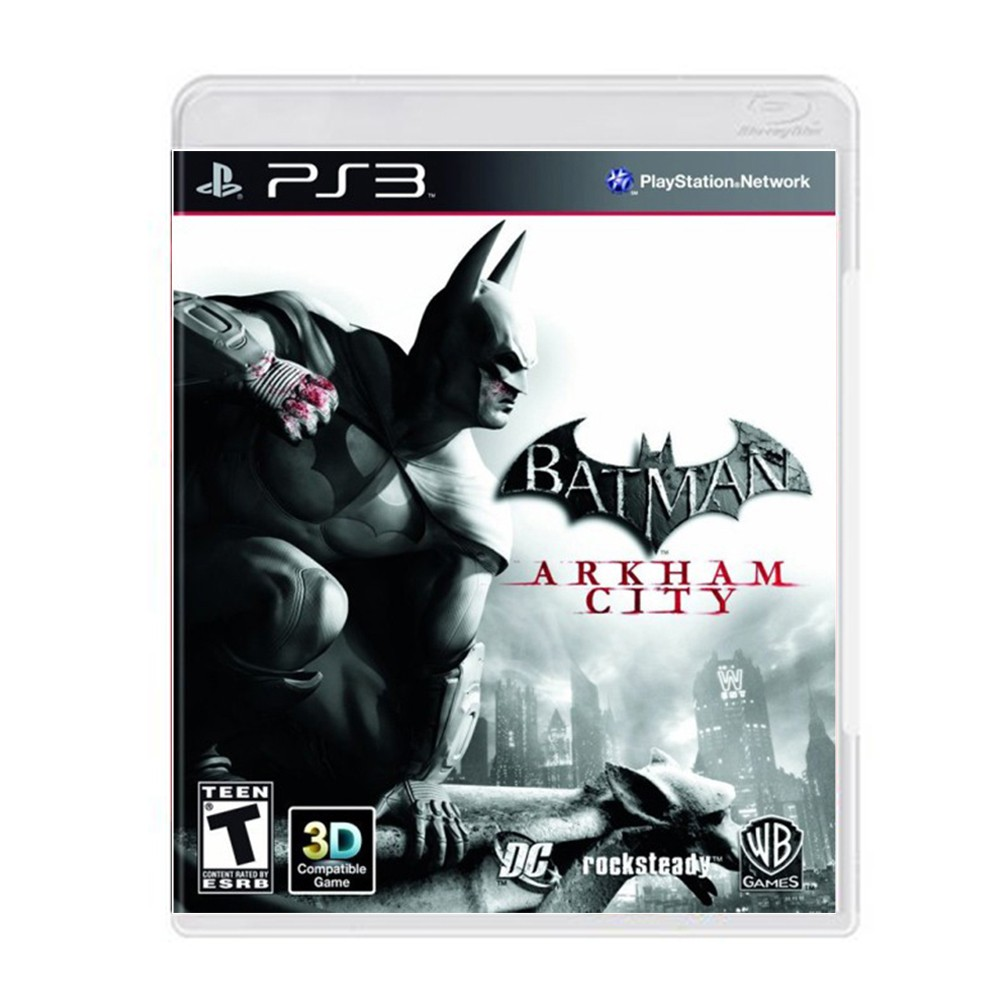 Jogo Batman Arkham City - PS3 (Usado)