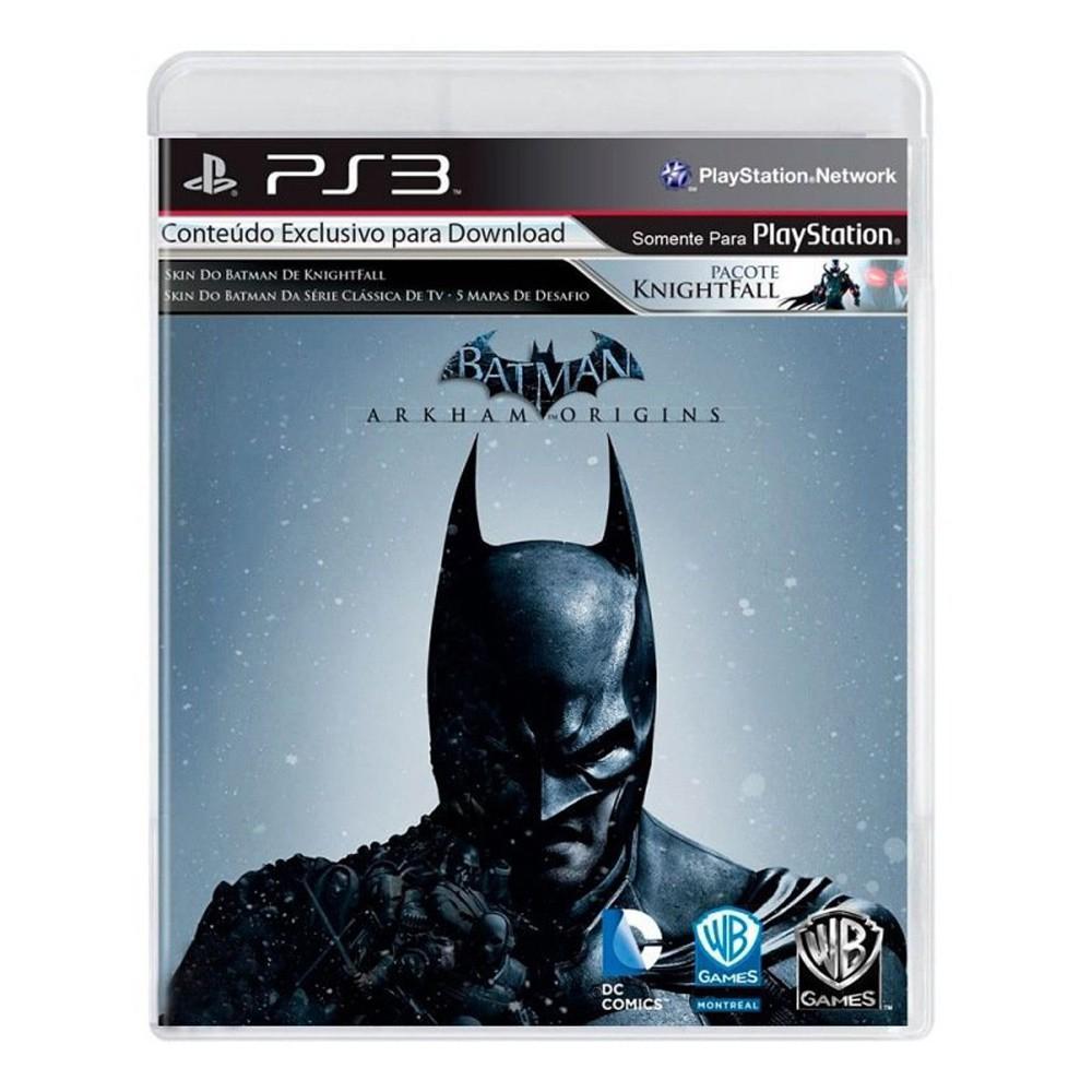 Jogo Batman Arkham Origins - PS3 (Usado)