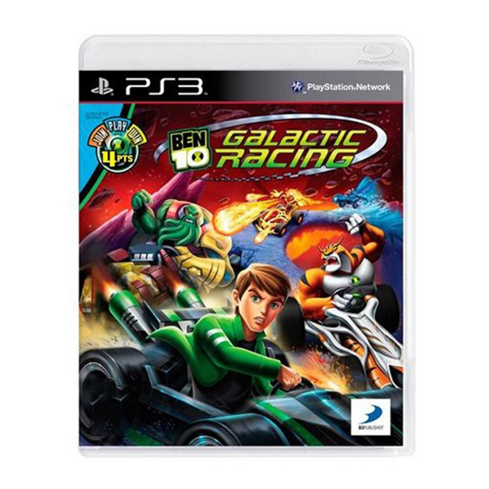 Jogo Ben 10 Galactic Racing  - PS3 (Usado)