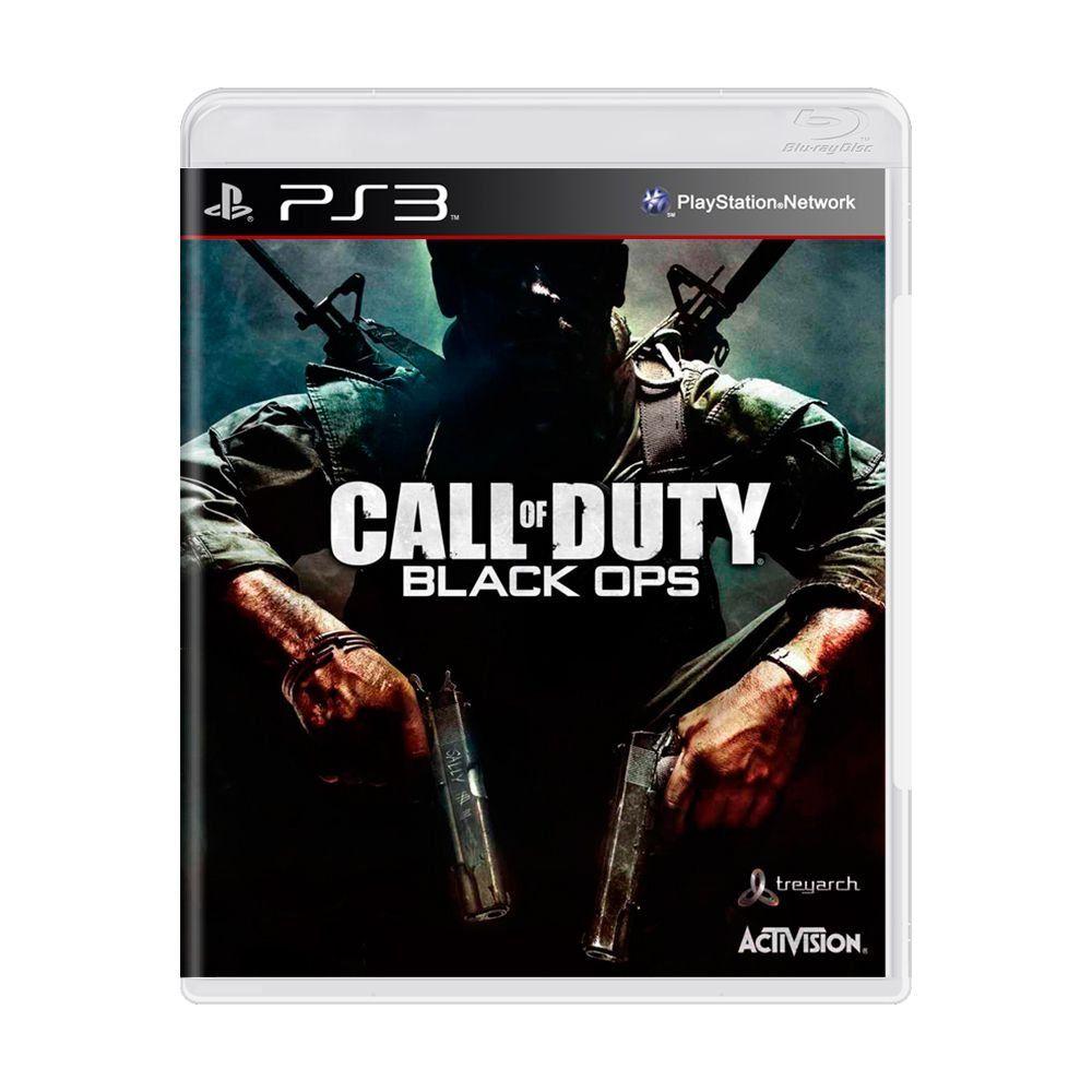 Jogo Call of Duty: Black OPS - PS3 (usado)