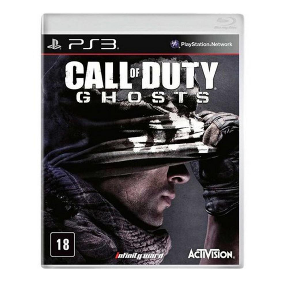 Jogo Call of Duty Ghosts - PS3 (Usado)