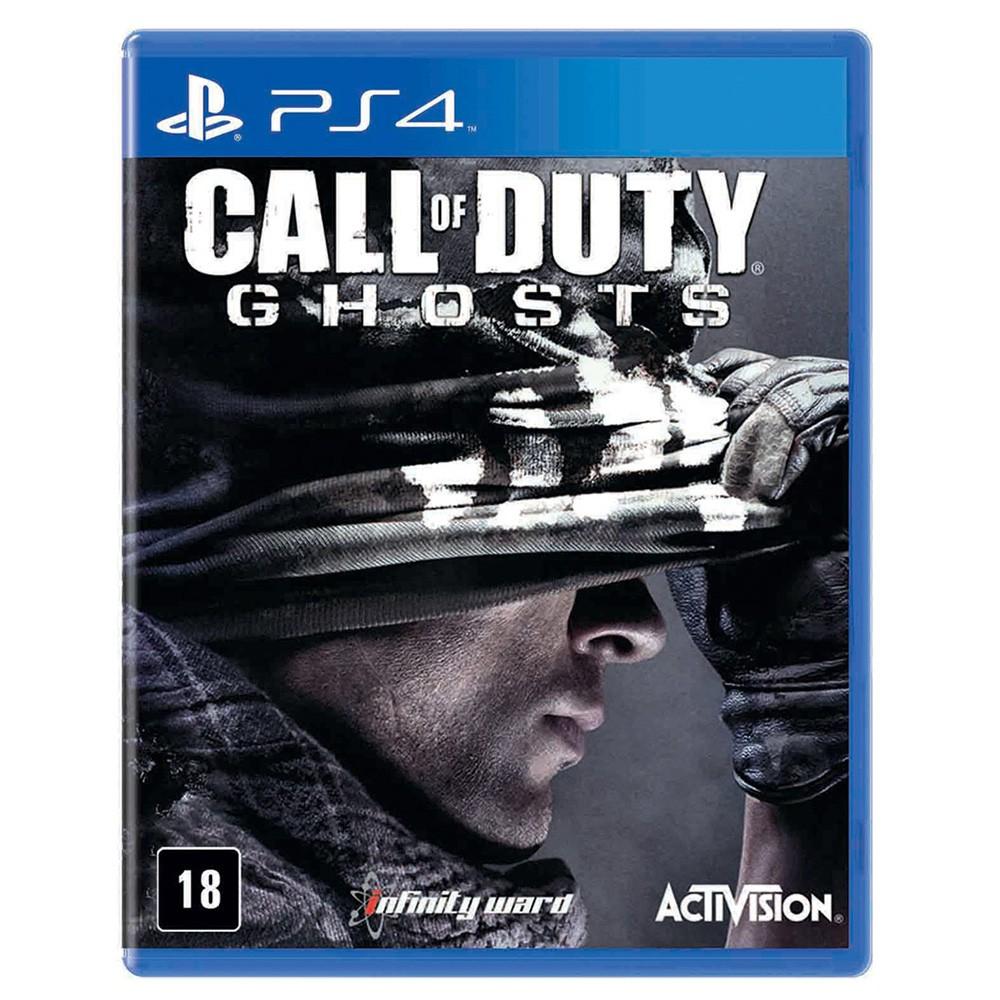Jogo Call Of Duty Ghosts - PS4 (Usado)