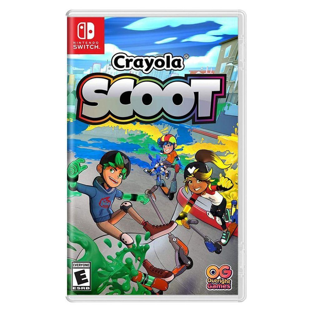 Jogo Crayola Scoot Nintendo Switch
