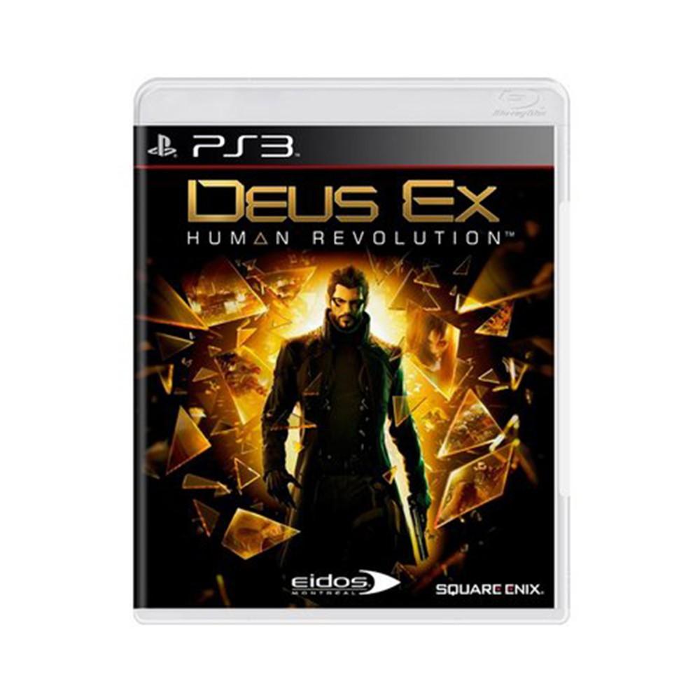 Jogo Deus Ex Human Revolution - PS3 (Usado)