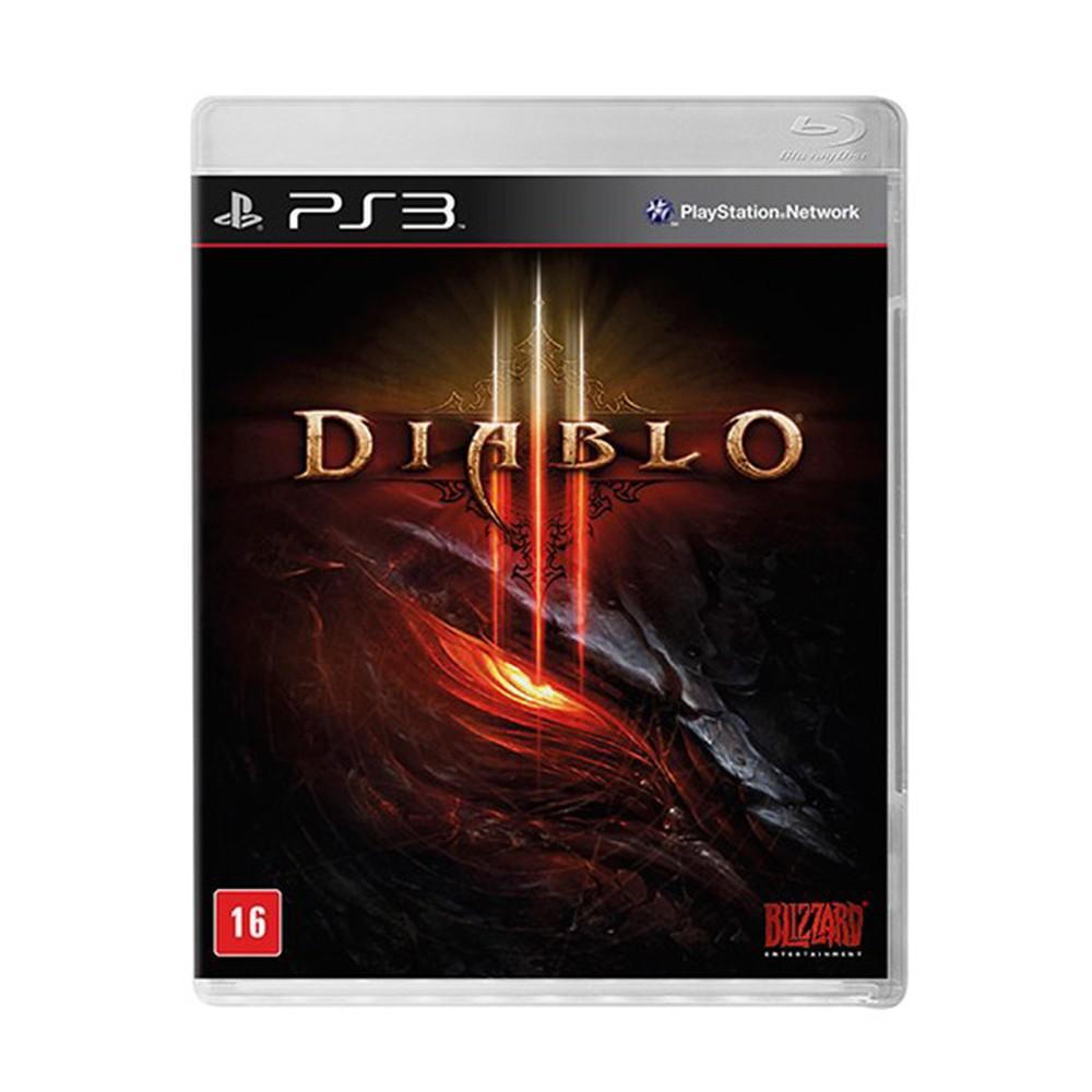 Jogo Diablo 3  - PS3 (Usado)