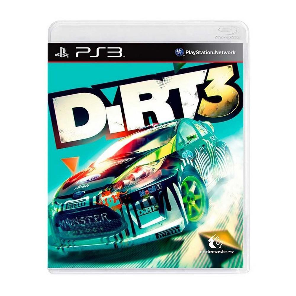 Jogo Dirt 3 - PS3 (Usado)