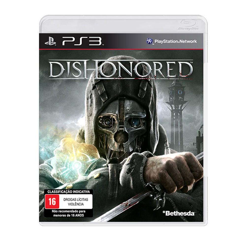 Jogo Dishonored - PS3 (Usado)