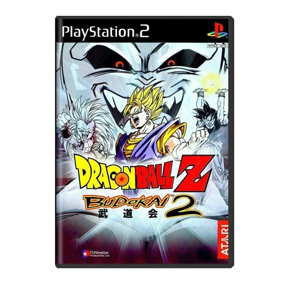 Jogo Dragon Ball Z Budokai 2 - PS2 (Usado)