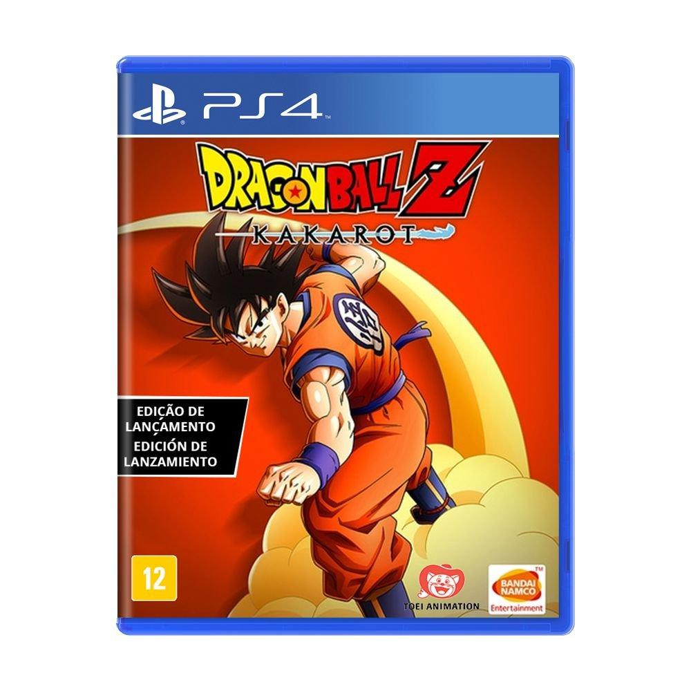 Jogo Dragon Ball Z Kakarot (Edição de Lançamento) - PS4