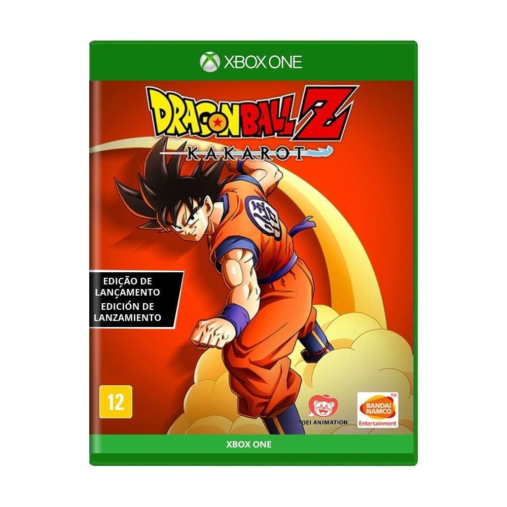 Jogo Dragon Ball Z Kakarot (Edição de Lançamento) - Xbox One