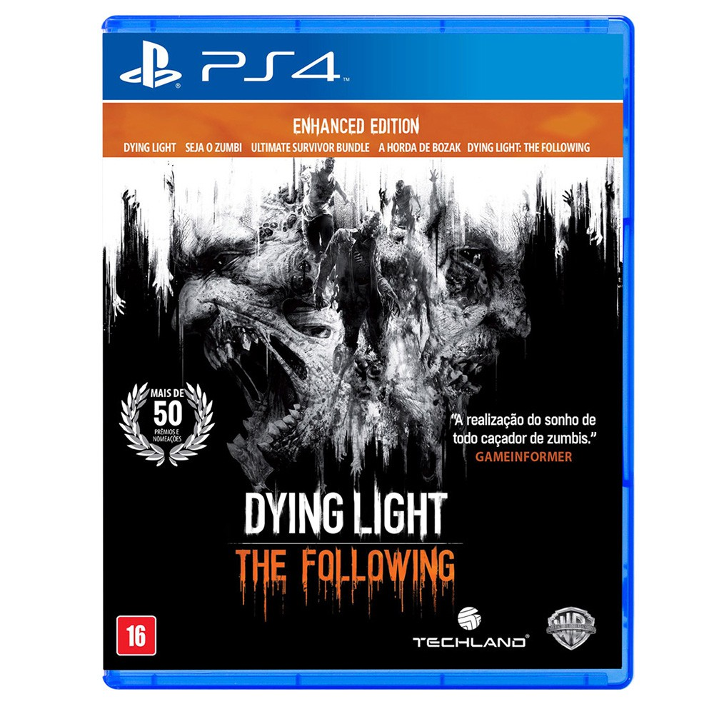 Jogo Dying Light Enhanced Edition - PS4 (Usado)