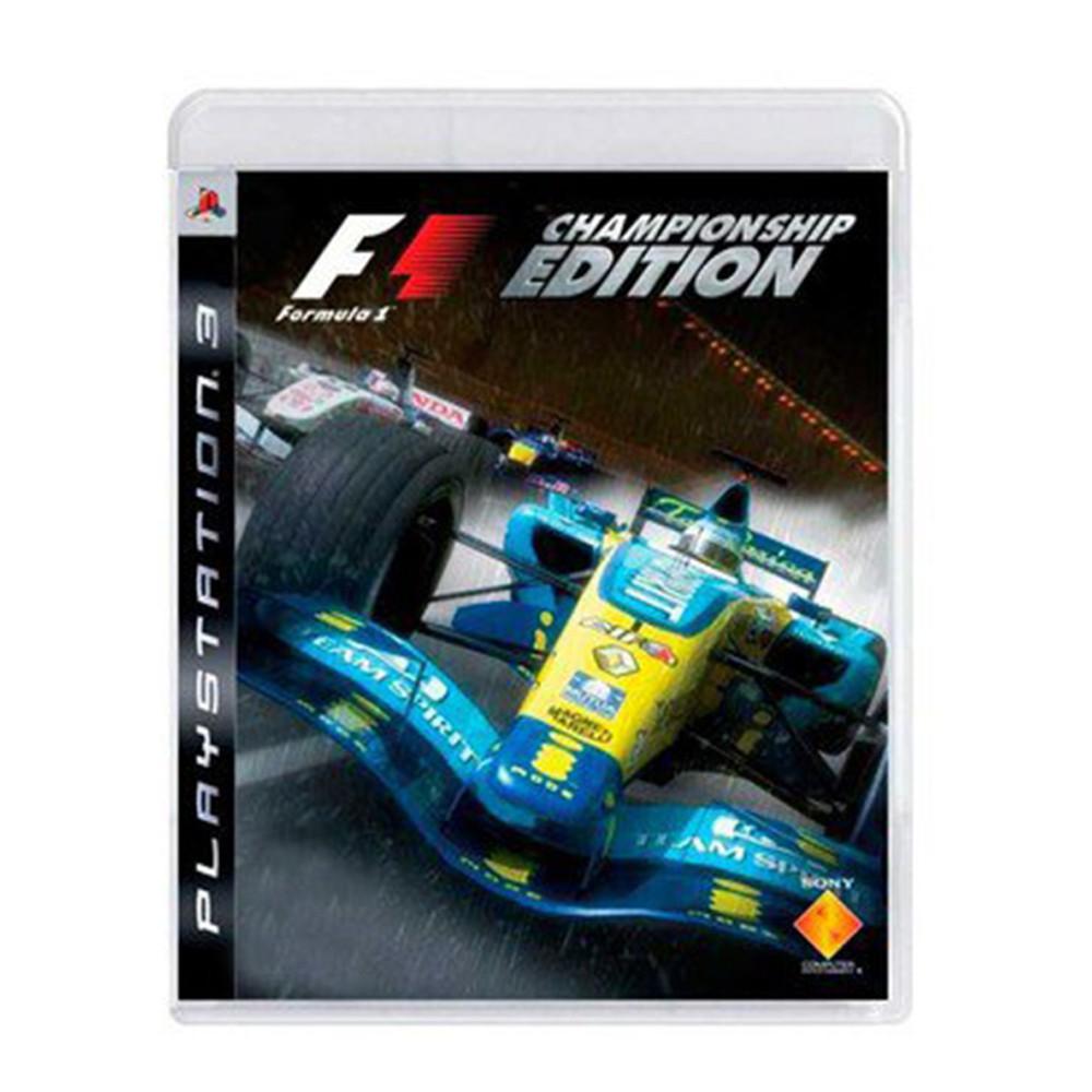 Jogo F1 Championship Edition - PS3 (Usado)