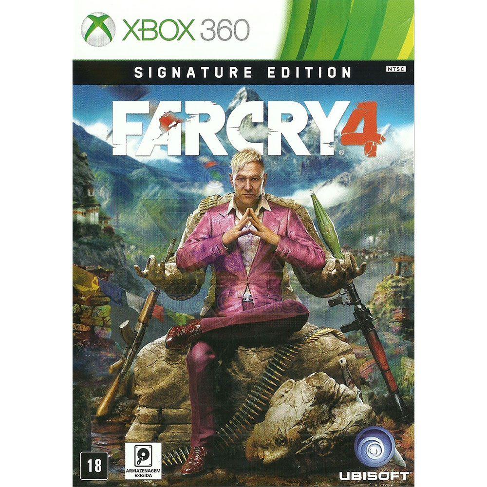 Jogo Far Cry 4 - Xbox 360 (Usado)