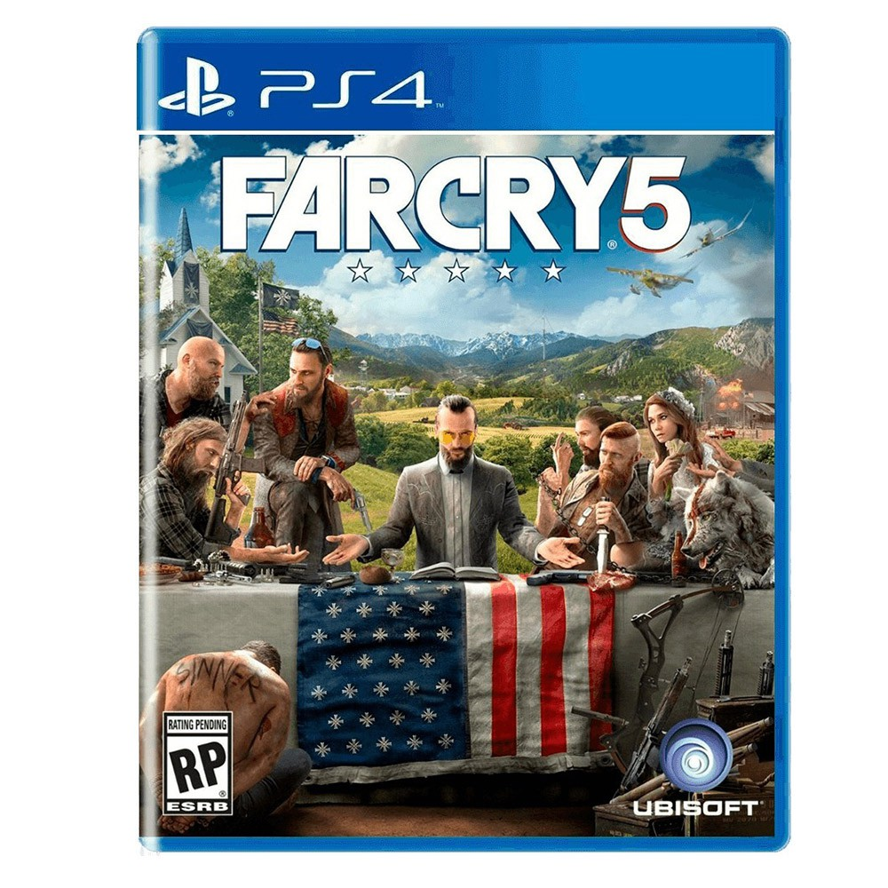Jogo Far Cry 5 - PS4 (Usado)