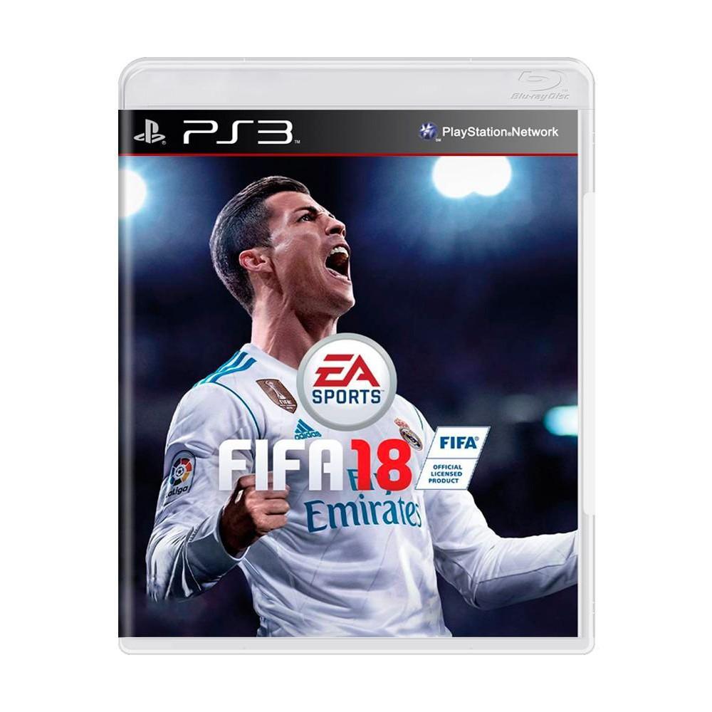 Jogo Fifa 2018 PS3 (Usado)