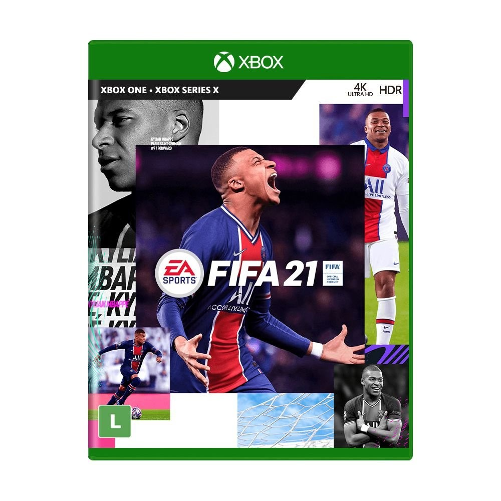 Jogo FIFA 21 - Xbox One /Xbox Series X