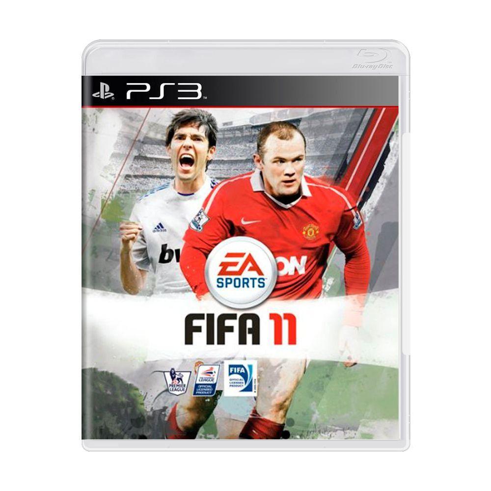 Jogo Fifa Soccer 11 - PS3 (Usado)
