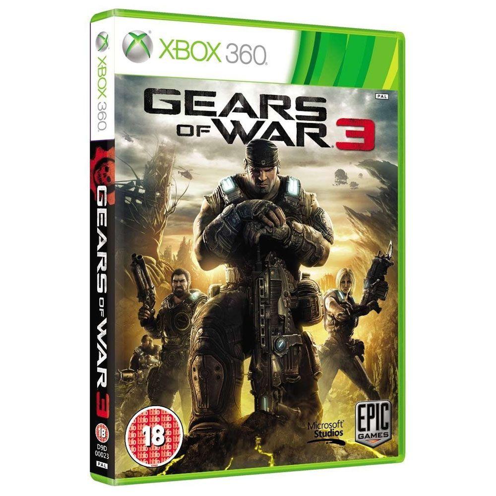 Jogo Gears of War 3 - Xbox 360 (Usado)