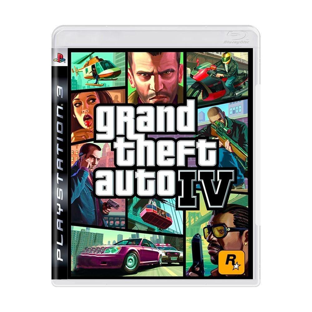 Jogo Grand Theft Auto 4 - PS3 (Usado)