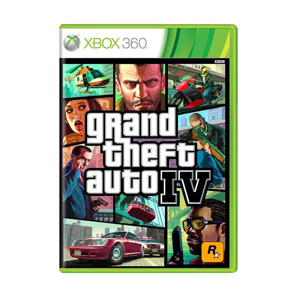 Jogo Grand Theft Auto 4 - Xbox 360 (Usado)