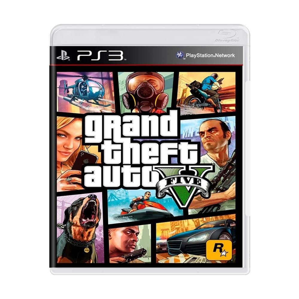 Jogo Grand Theft Auto 5 - PS3 (Usado)