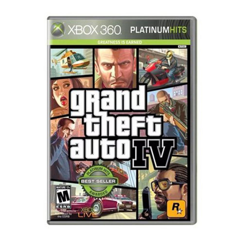 Jogo GTA IV - Xbox 360 (Usado)