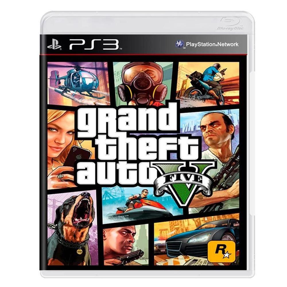 Jogo GTA V - PS3 (Usado)