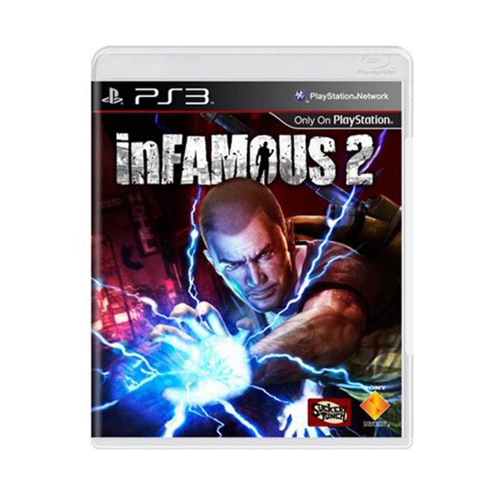 Jogo Infamous 2 - PS3 (Usado)