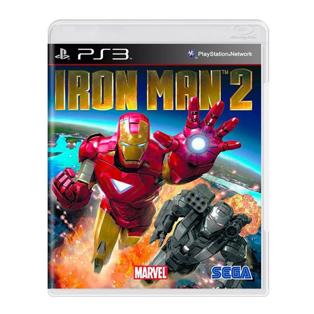 Jogo Iron Man 2 - PS3 (Usado)