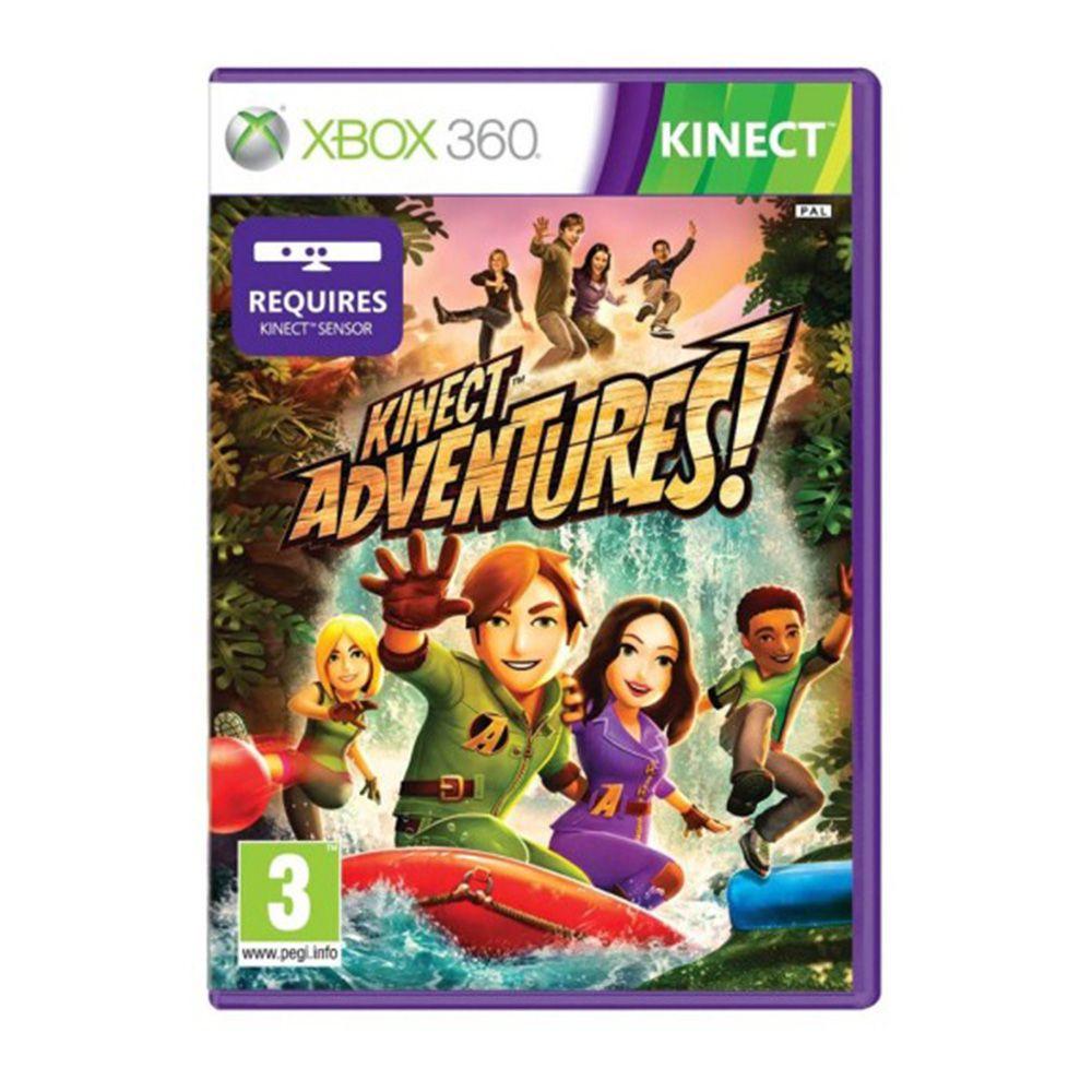 Jogo Kinect Adventures - Xbox 360 (Usado)