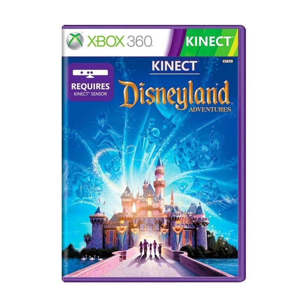 Jogo Kinect Disneyland Adventures  Xbox 360 (Usado)