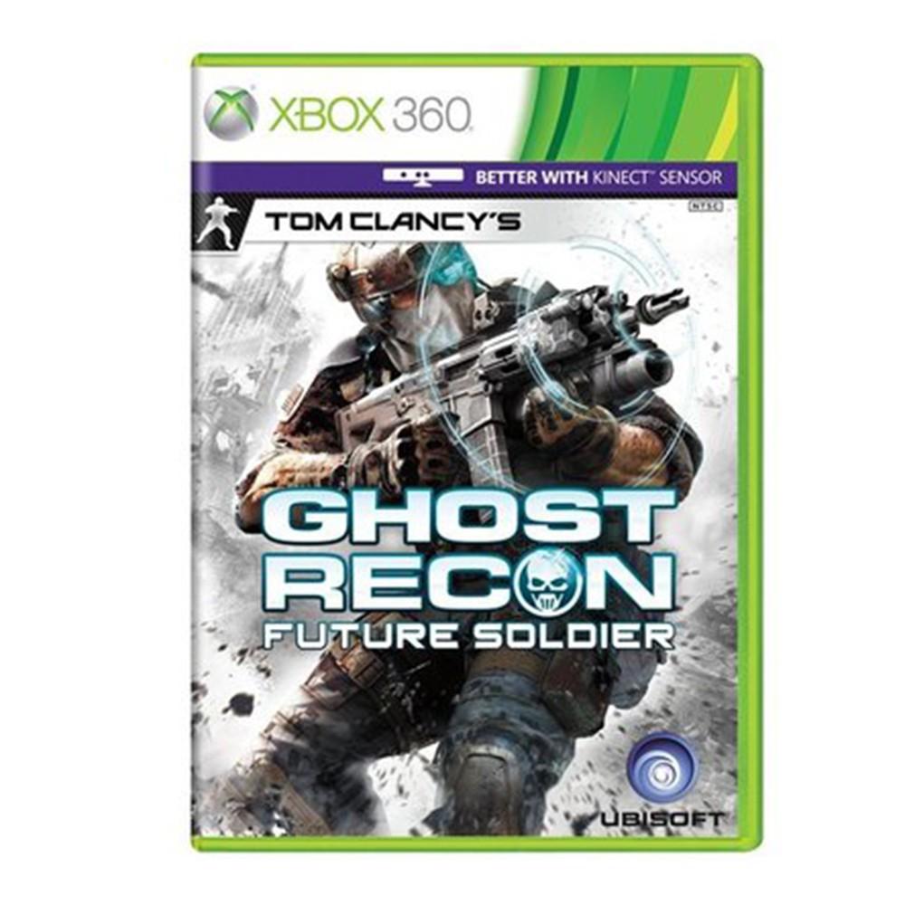 Jogo Kinect Ghost Recon Future Soldier Xbox 360 (Usado)