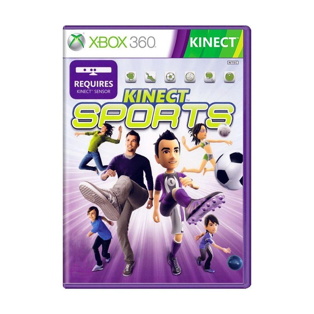 Jogo Kinect Sports - Xbox 360 (Usado)